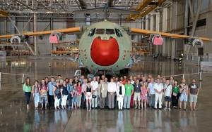 AIRBUS D&S SPS VISITA REVA SEMINAR 11-07-2014